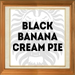 Black Banana Cream Pie
