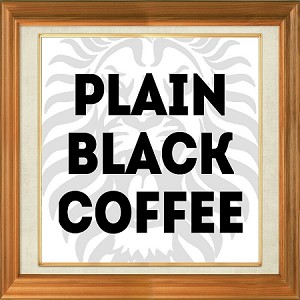 Plain Coffee